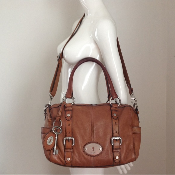2875a4b2483e Fossil Handbags - Fossil MADDOX Satchel Crossbody